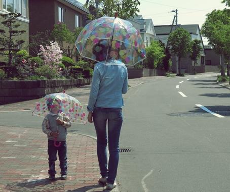 おしゃれでかわいい高級ビニール傘 フルトン
