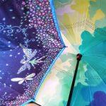 逆さ傘を比較したよ!