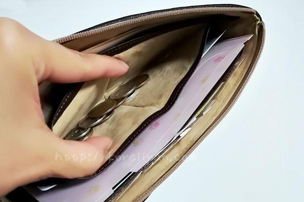 アタオ 財布の小銭入れ