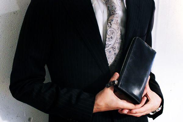 薄い安いレザージーの長財布